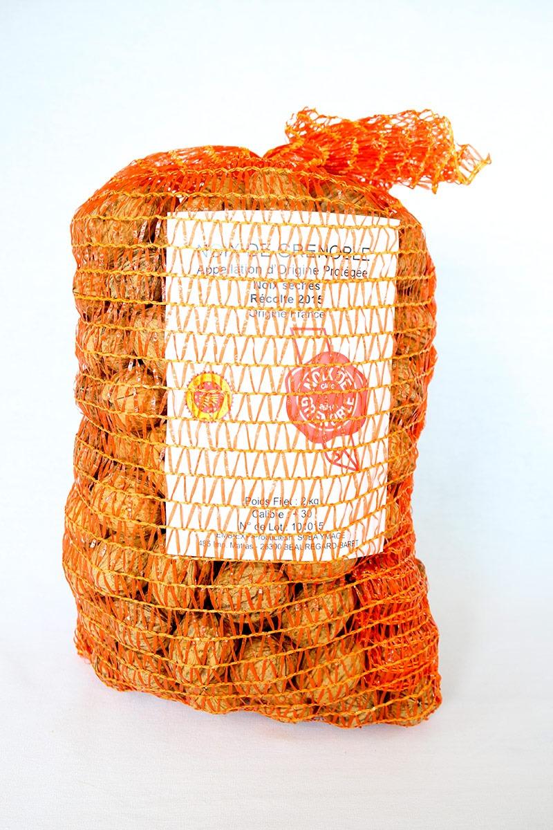 Filets de Noix de Grenoble sèches de 2 Kg