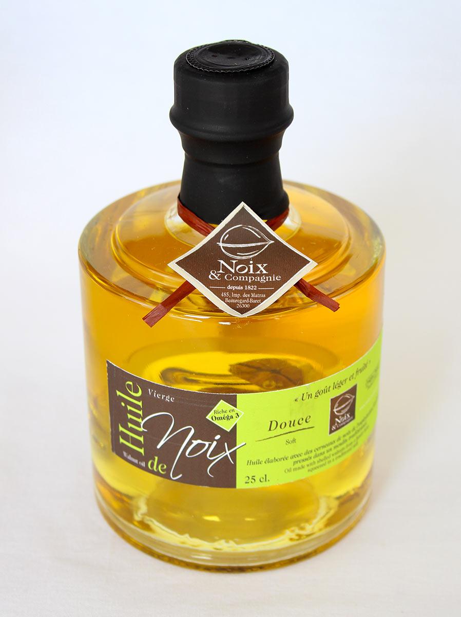 Bouteille huile de noix douce 25 cl