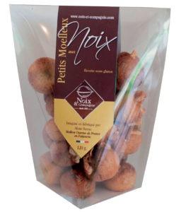 Sachet de 120g de moelleux aux noix sans beurre et sans gluten