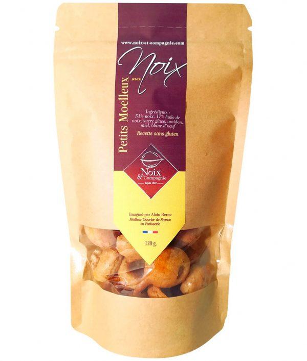 Moelleux aux noix en sachet kraft