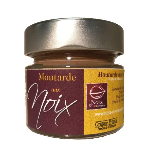 Moutarde aux noix port 90g